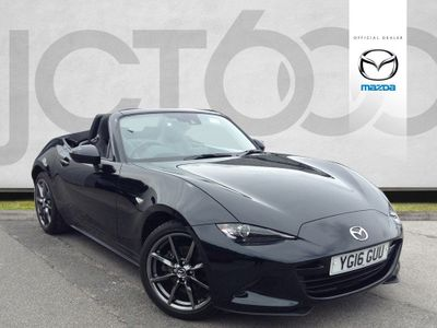 Mazda MX-5 SPORT NAV 2.0 2dr LOW MILEAGE WITH SAT NAV!
