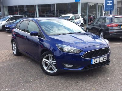 Ford Focus 1.0 EcoBoost Zetec 5dr APPEARANCE PACK - PRIVACY GLAS