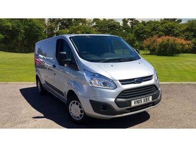 Ford Transit Custom 290 Lwb Diesel Fwd 2.2 Tdci 125Ps Low Roof Trend Van ++LONG WHEEL BASE++