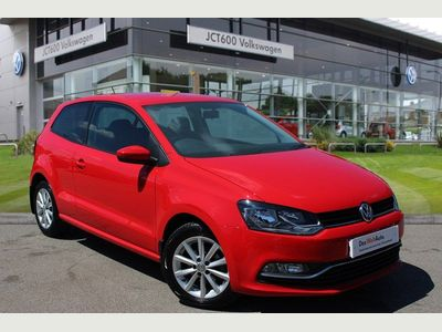 Volkswagen Polo 1.2 TSI Match 3dr Has cruise control and sensors