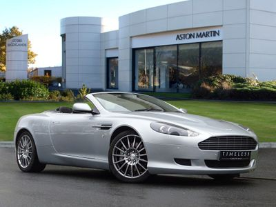 Aston Martin DB9 V12 2dr Volante Touchtronic Auto 6.0 Summer Has Arrived!!