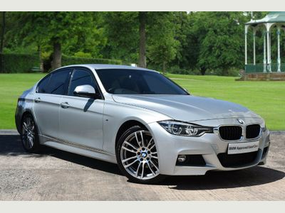 BMW 3 Series 320d M Sport Saloon 2.0 4dr MSPORT SAT NAV LEATHER CAMERA