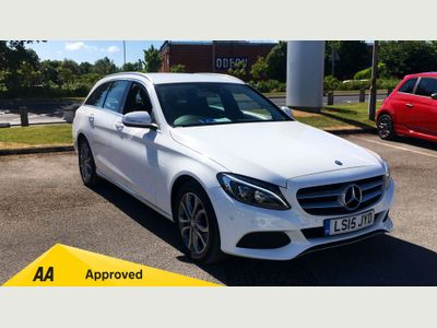 Mercedes-Benz C-Class C200 Sport 5dr ASK ABOUT OUR WARRANTY4LIFE