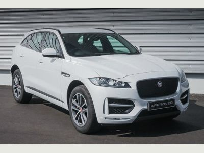 Jaguar F-Pace 2.0 i4 Diesel (180PS) R-Sport AWD 5dr LOVELY LOOKING & LOW MILEAGE