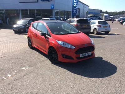 Ford Fiesta 1.0 EcoBoost 140 Zetec S Red 3dr RED EDITION