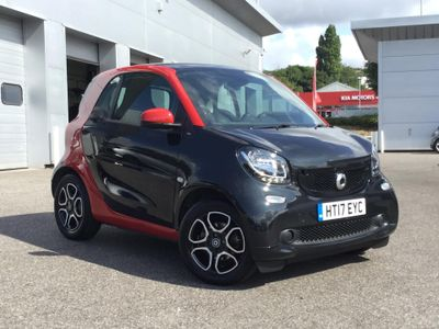 Smart Fortwo Coupe 0.9 Turbo Prime Premium 2dr Auto SMART APPROVED