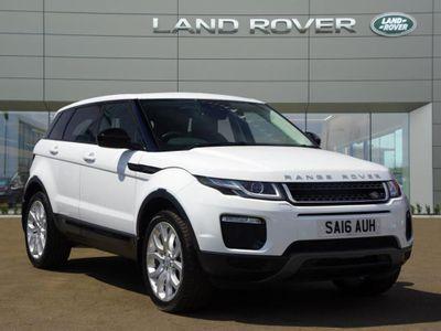 Land Rover Range Rover Evoque 2.0 TD4 SE Tech 5dr Auto SUNROOF, LEATHER SAT NAV