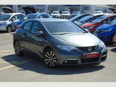 Honda Civic 5-Door 1.6 i-DTEC EX 5dr Leather, Full History