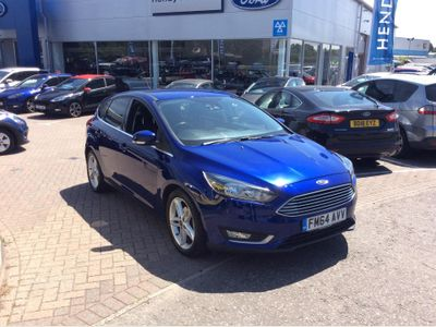 Ford Focus 1.5 TDCi 120 Titanium 5dr APPEARANCE PACK - PRIVACY GLAS