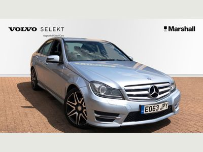 Mercedes-Benz C Class C250 CDI BlueEFFICIENCY AMG Sport Plus 4dr Auto 2.1 PANORAMIC GLASS ROOF!