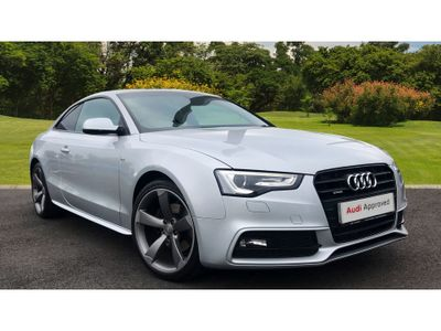 Audi A5 2.0 Tdi 177 Quattro Black Edition 2Dr Diesel Coupe QUATTRO FOUR WHEEL DRIVE