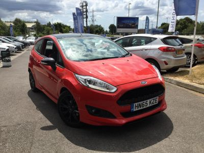 Ford Fiesta 1.0 EcoBoost 140 Zetec S Red 3dr £20 ROAD TAX - 1 OWNER