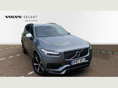 Volvo XC90 D5 PowerPulse AWD R-Design Automatic + Heated Front Seats, Heated Windscreen, Front & Rear Parking Sensors 2.0 5dr CHOICE OF COLOURS LOW MILEAGE