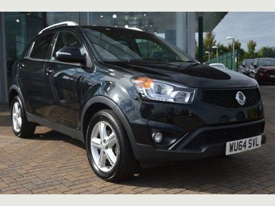 Ssangyong Korando 2.0 TD ELX4 4x4 5dr One Owner, FSH, Well Spec'd