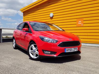 Ford Focus 1.6 TDCi 115 Zetec 5dr £30 ROAD TAX-ONE OWNER-F.S.H.