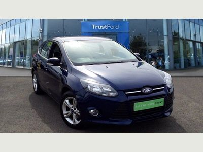 Ford Focus 1.6 125 Zetec 5dr, RECENTLY REDUCED, 12 MONTHS MOT, 6 MONTHS WARRANTY, TAKE ME HOME TODAY @ TRUSTFORD MALLUSK. 02890837700