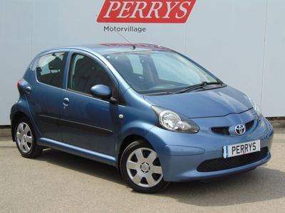 Toyota Aygo 1.0 VVT-i Blue 5dr Zero Road Tax - Low Insurance