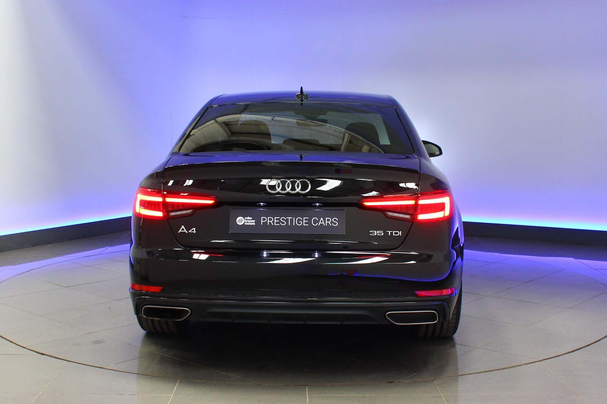 Used Audi A4 2.0 Tdi 35 Black Edition S Tronic (s/s) 4dr