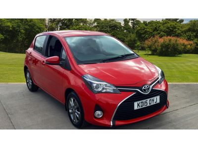 Toyota Yaris 1.33 Vvt-I Icon 5Dr Petrol Hatchback 1 Private Owner
