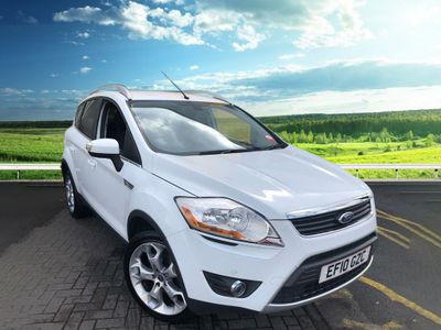Ford Kuga TITANIUM AWD, FRONT AND REAR PARKING SENSORS, SAT NAV, FRONT AND REAR HEATED SCREEN, CLIMATE CONTROL 2.5 5dr sat nav, parking sensors