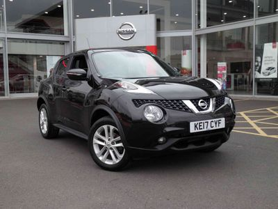 Nissan Juke 1.2 DiG-T N-Connecta 5 door **£400 DEPOSIT CONTRIBUTION**