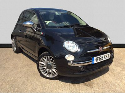 Fiat 500 1.2 Cult (s/s) 3dr RED LEATHER SEATS