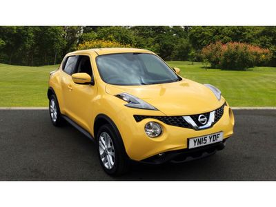 Nissan Juke 1.2 Dig-T Acenta 5Dr Petrol Hatchback Stand Out from the Crowd