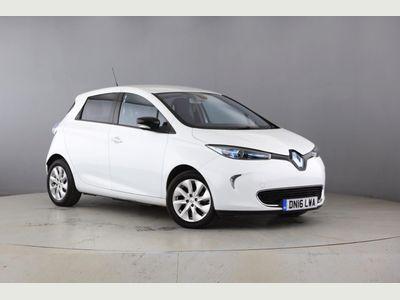 Renault Zoe Hatchback 5-Door E (88bhp) Dynamique Nav 5dr *VERY LOW MILES*FSH*
