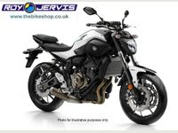 Yamaha MT-07 ABS ONE OWNER - ONLY 1100 MILES 700cc image