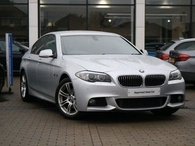 BMW 5 Series 520d M Sport Saloon 2.0 4dr FOLDING MIRRORS,SUN PROTECT GL