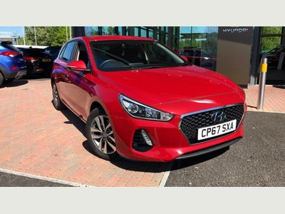 Hyundai I30 5dr Hat 1.6 Crdi 110ps SE Blue Drive PRICE NEW £20415 SAVE £5915