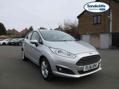 Ford Fiesta 1.25 82 Zetec 5 door SANDICLIFFE CAR FROM NEW