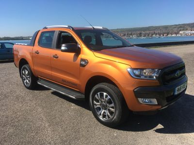Ford Ranger Pick Up Double Cab Wildtrak 3.2 TDCi 200 Auto Flash Demo Sale