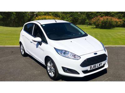 Ford Fiesta 1.0 Ecoboost Zetec 5Dr Petrol Hatchback £0 ROAD TAX