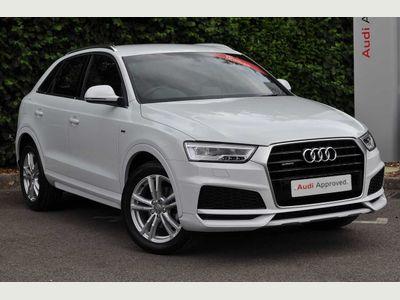Audi Q3 S line Edition 2.0 TDI quattro 150 PS 6-speed 5dr HD Sat Nav, Parking Plus