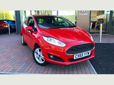 Ford Fiesta Zetec Turbo 1.0 3dr