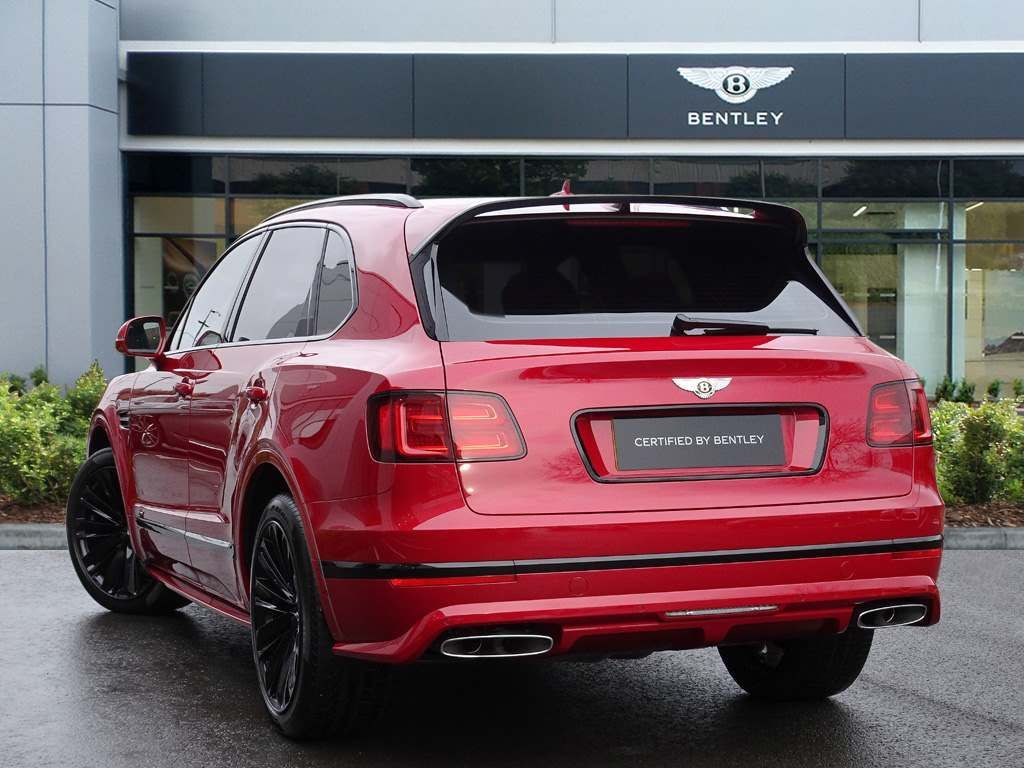 Bentley Bentayga 6.0 W12 Speed Auto 4WD 5dr 5 Seat