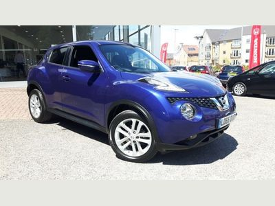 Nissan Juke 1.2 DiG-T N-Connecta 5dr LOW MILEAGE - REVERSING CAMERA