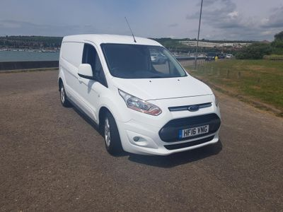 Ford Transit Connect 1.6 TDCi 115ps L2 Limited Van DAB & Ply-lined
