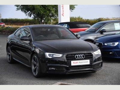 Audi A5 Coupe 2.0 TDI Black Edition (177ps) 2dr