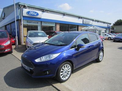 Ford Fiesta 1.0 EcoBoost Titanium X (s/s) 5dr 125PS, LOW MILEAGE