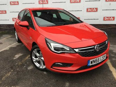 Vauxhall Astra 1.6 CDTi 136 SRi Nav 5dr Hatchback We Simply Refuse To Be Beaten