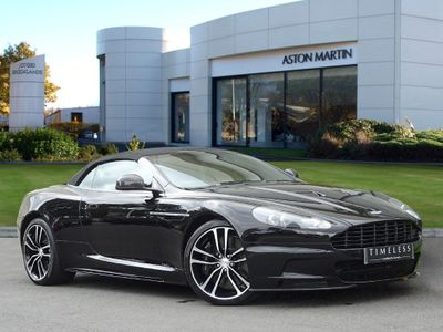 Aston Martin DBS V12 2dr Volante Touchtronic Auto 6.0 Becoming a very rare vehicle!