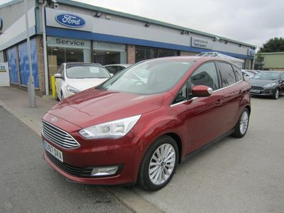 Ford C-Max 1.5 TDCi Titanium (s/s) 5dr FORD DIRECT VEHICLE, SAT NAV