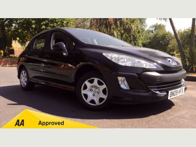 Peugeot 308 1.4 VTi S 5dr Aircon, largeboot space