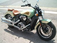 Indian Scout 1200 Custom Cruiser 1200cc image