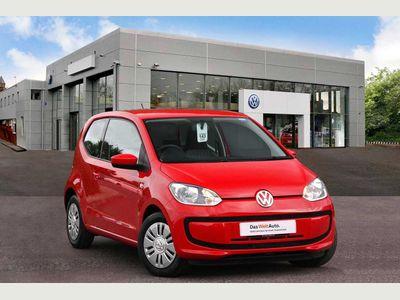 Volkswagen up! Hatchback 3-Dr 1.0 60PS Move up! 3dr LOW INSURANCE GROUP