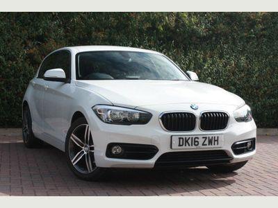 BMW 1 Series 118d Sport 5-Door 2.0 5dr SPORT, 69mpg Combined