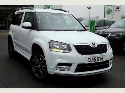Skoda Yeti 5-Dr 2.0 TDI CR (140bhp) 4x4 Black Edition DPF 5dr Upgraded Alloys!
