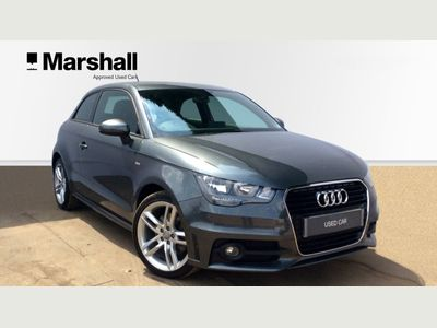 Audi A1 1.4 TFSI S Line 3dr S Tronic CRUISE+AUTOMATIC+PEARL PAINT!